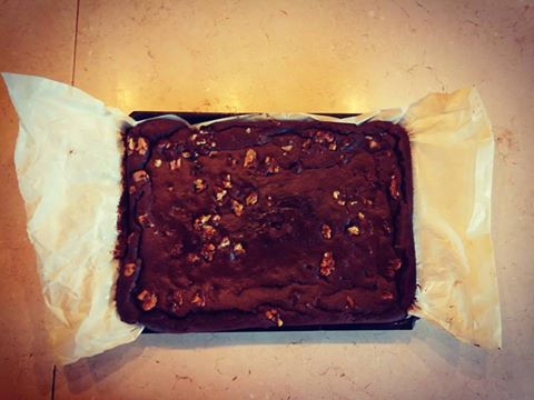 Brownie de Algarroba y Batata